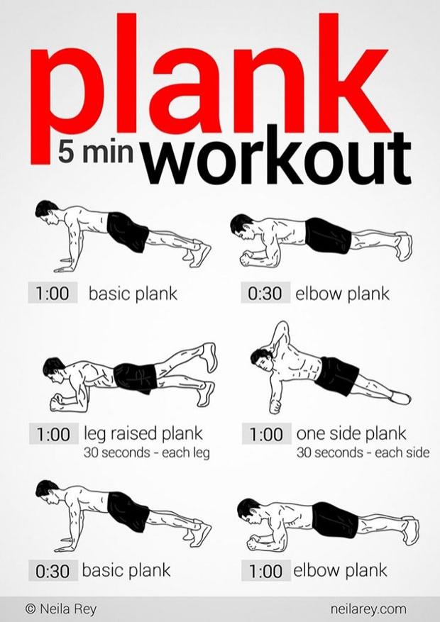 7 สิ่งที่จะเกิดขึ้นถ้าคุณออกกำลังกายท่า Planks ทุกวัน
