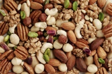 ถั่วและเมล็ดพืช ของว่าง ของคนลดน้ำหนัก