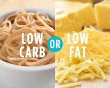 การกินอาหารลดน้ำหนักแบบ Low Fat Low Carb แบบสั้นง่ายได้สาระ