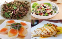 6 อาหารสำหรับสาวๆที่อยากมีกล้ามท้อง!!