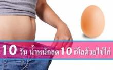 สูตรลดน้ำาหนักเร่งด่วน 10 กิโล ใน 10 วัน