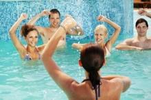 ออกกำลังกายในน้ำ ช่วยลดพุง