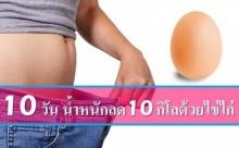 สูตรลดน้ำหนักเร่งด่วน 10 กิโล ใน 10 วัน